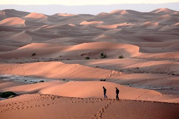 The dunes of Chegaga in 3 days 4x4 and dromedary