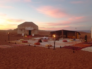 3 days in luxury bivouac and charm departure Zagora