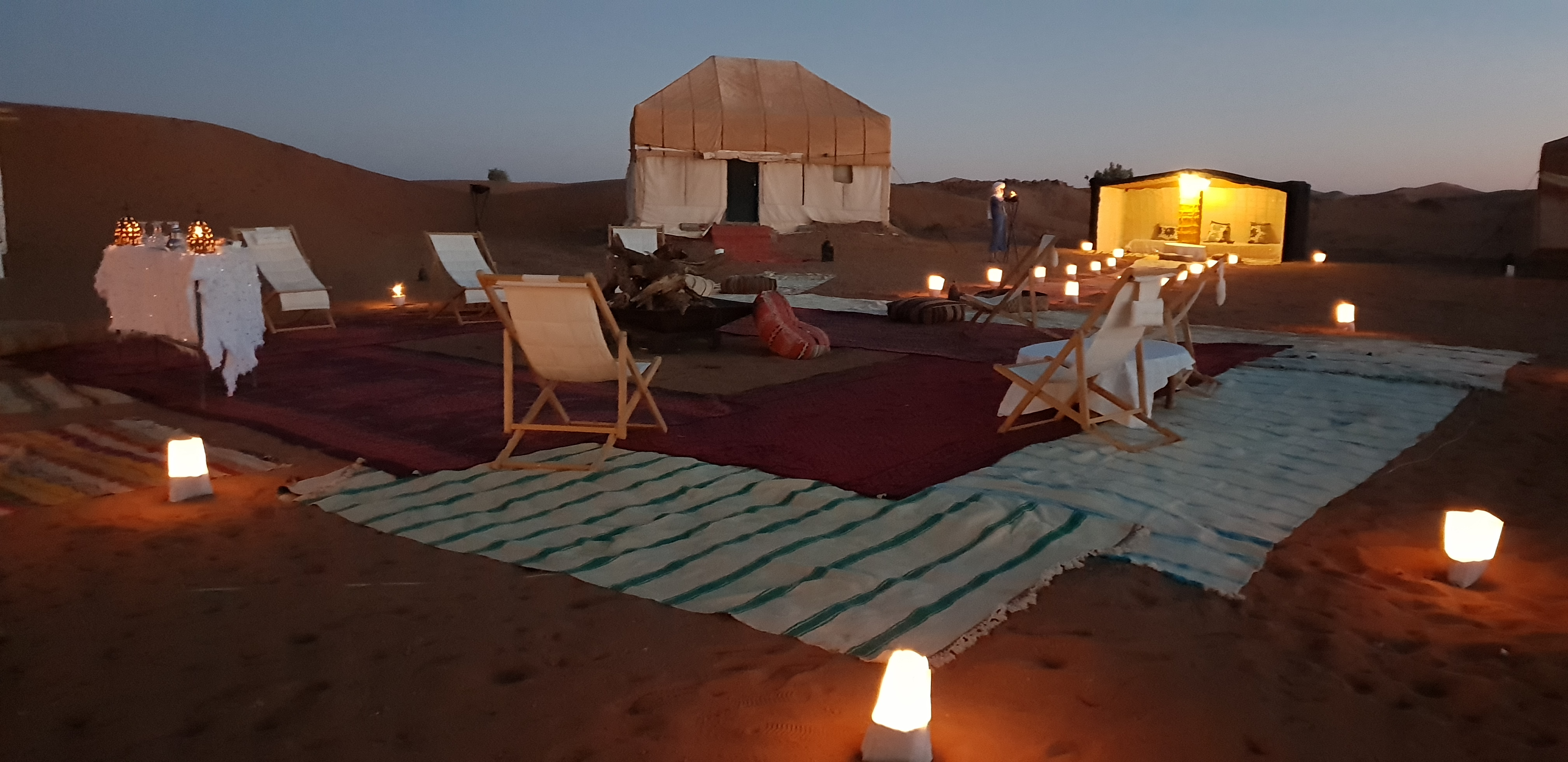 Circuit 2 days in 4/4: Ouarzazate - Chegaga in luxury Camp