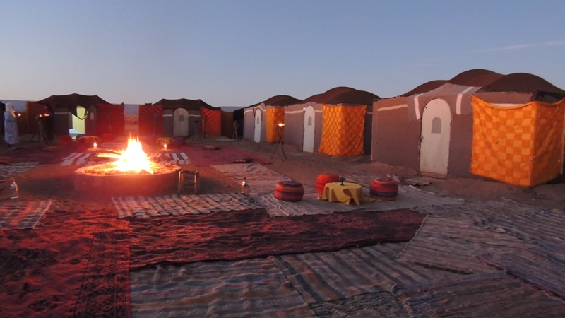 New year departure Marrakech 3 days  with 2 night in camp South Morocco